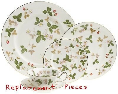 Wedgwood China Wild Strawberry Place Setting  - Replacement Pieces