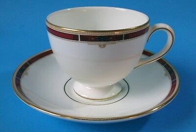 Wedgwood Cup & Saucer - COLORADO pattern Leigh style