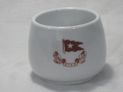 White Star Line Titanic Authentic Reproduction Coffee Cup