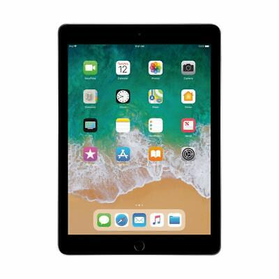 "New Apple Ipad 6Th Generation Space Gray 9.7"" 32Gb Wi-Fi A1893 Latest 2018 Model"