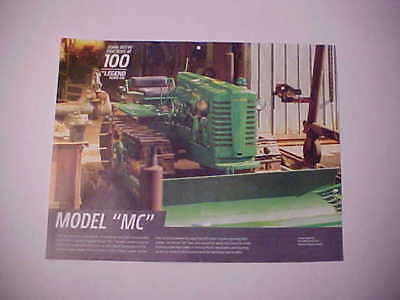"1948,1949,1950,1951,1952 John Deere ""Model MC"" photo from NOS calendar--new!!"