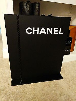 💯%auth Chanel Store display sign handbag bottle dummy factice shoes