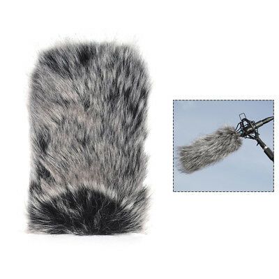 L Size Microphone Mic Furry Windscreen Windshield Cover Muff for TAKSTAR LT H1E1