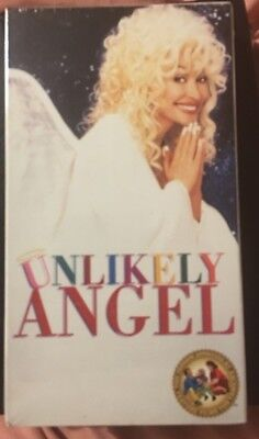 Unlikely Angel VHS Dolly Parton Family Comedy Roddy McDowall
