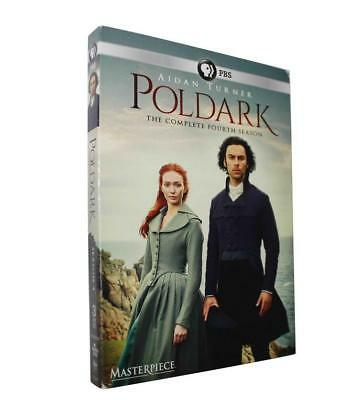 Poldark Season 4(DVD, 2018, 3-Disc Set)brand new Free shipping
