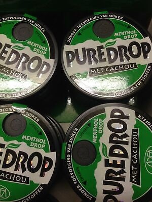 Pure licorice Cachous - Menthol - Pure Drop