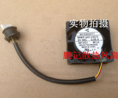 1 PCS For MITSUBISHI NC5332H71 MMF-04C24DS-MCA Fan 40mm x15mm DC24V 0.09A 3 pin