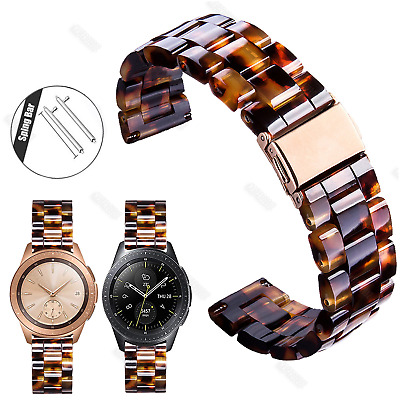 20mm Tortoise Shell Resin Band Strap For Xiaomi HUAMI AMAZFIT Bip Youth Watch