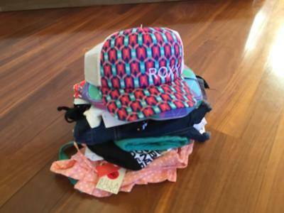 Free Post Girls NWT Bulk Summer Clothes Sz 12 x 12 Items,Roxy,Billabong