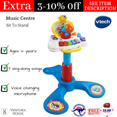 Kids Educational Sit To Stand Music Centre Play & Learn Musical Toy Table -Vtech