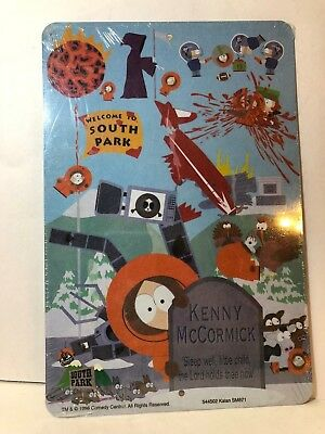 Metal Welcome to South Park Comedy Central Poster Replica NEW