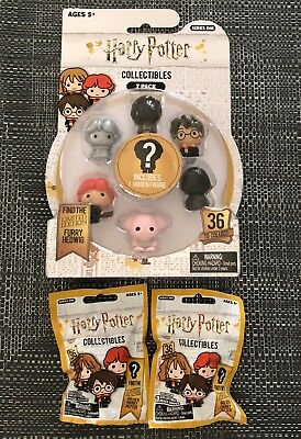 New Harry Potter Collectibles Series 1. 7-Pack Plus 2 Blind Bags