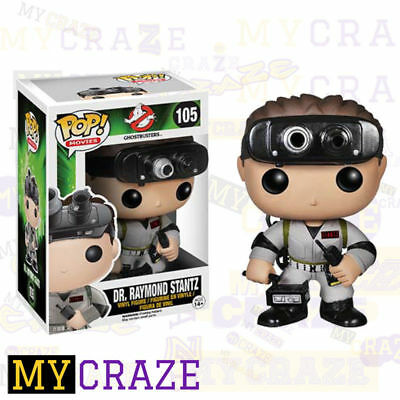 Ghostbusters Dr. Raymond Stantz 105 Funko Pop! Vinyl Movie Figure