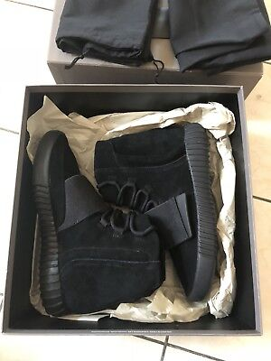 ADIDAS YEEZY BOOST 750 TRIPLE BLACK SIZE US 8 100% authentic