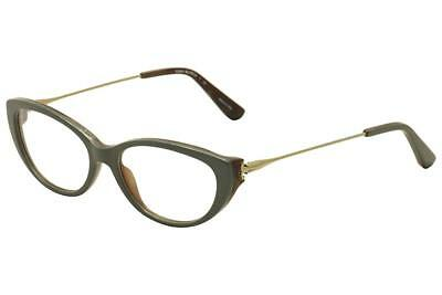 155850ed16 AUTHENTIC TORY BURCH 2063 - 1553 Eyeglasses Olive Horn Vintage Gold ...