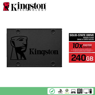 "Kingston A400 240GB SSD SATA 3 2.5"" Solid State Drive SA400S37 TLC SSD SATA3 6GB"