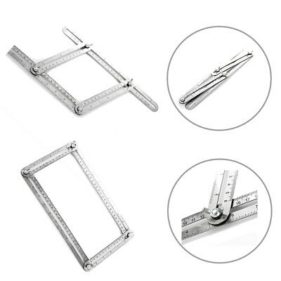 Heavy Duty Stainless Steel Metal Angleizer Template Multi Angle Measuring Ruler