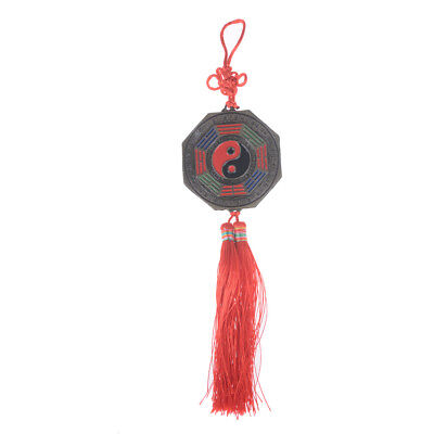 Chinese Feng Shui Bagua Mirror Good Luck Fortune Prayer Hanging Charm Gift HT