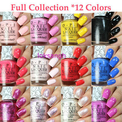 H89-H91 #Lacquer Nail Polish Full Collection 12 Colors Pick Any 1 * New 15ml/pc