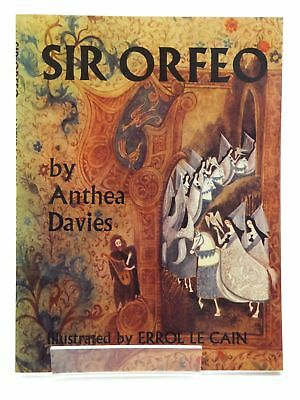 SIR ORFEO - Davies, Anthea. Illus. by Le Cain, Errol