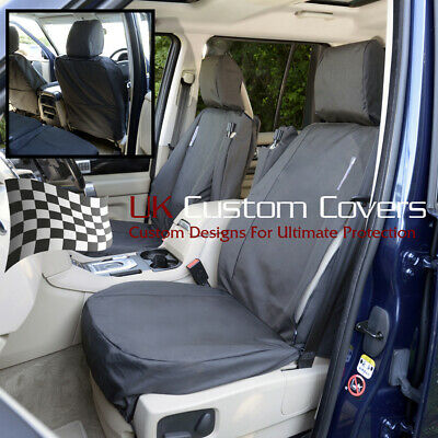 Land Rover Discovery 3 Waterproof Heavy Duty Front Seat Covers Black 191 Hd