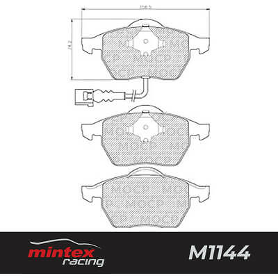 BRP0942 2041 REAR BRAKE PADS FOR BMW 525 TOURING E39 2.5 2000-2004