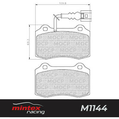 Mintex Racing MDB2271 M1144 High Performance Brake Pads
