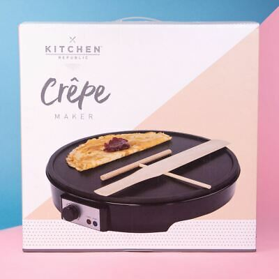 Crepe Maker Pancake Non-Stick Maker Electric