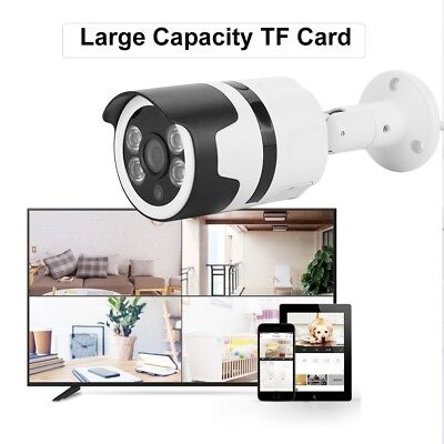 Telecamera Wifi Videosorveglianza Ip Hd 720P Wireless Esterno Onvif Camera Tf Ir