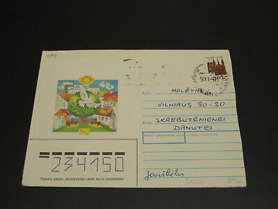 Lithuania 1990 cover *4393