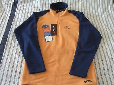 Warmpeace Anadir Pullover orange /navy M