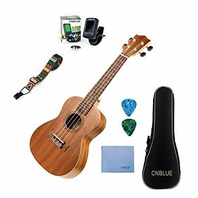 CNBLUE Mahagoni Tenor Ukulele als Anfänger Paket mit (26 inch Tenn or)