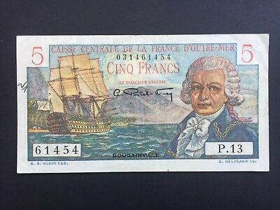French Equatorial Africa 5 Francs issued 1947 VF