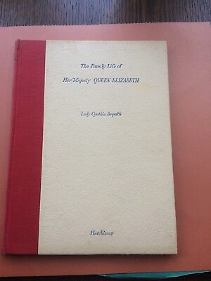 """Vintage """"The Family Life of Queen Elizabeth"""" by Lady Cynthia Asquith (1937)"""