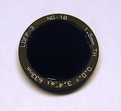Coherent ND-Filter LDFP-3, NG-10, 1.5mm TH, O.D.=3.4 @ 633nm Neutraldichtefilter