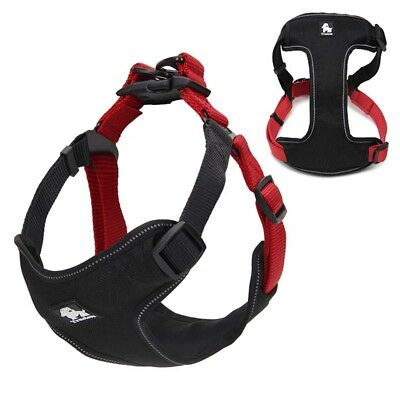 True love Soft Mesh Padded 3M Multi color Reflective Dog Harness