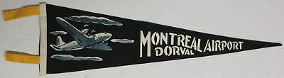 Montreal Dorval Airport Felt Pennant