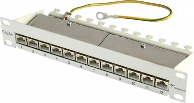 Telegärtner Mini PatchPanel Cat.6A MPP12-HS K J02022A0057