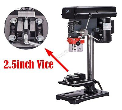 SwitZer Pillar Press Drill Bench Top Table Stand 500W 16mm Workbench 9 Speed
