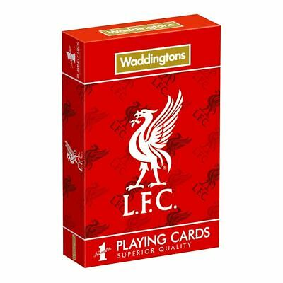 Waddingtons Number 1 Liverpool FC Playing Cards