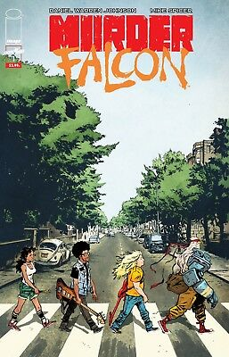 Image Comics- Murder Falcon #1 Exclusive Beatles Abbey Road Variant <500 printed