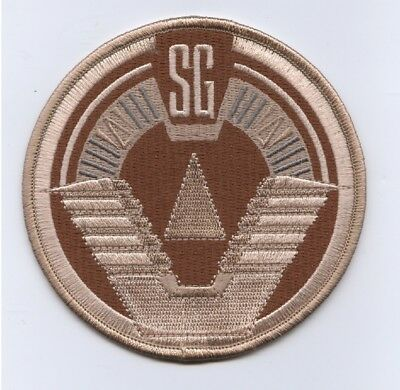STARGATE SG-1 DELTA Force Crew Team Logo Desert Camo Uniform Patch 3 9