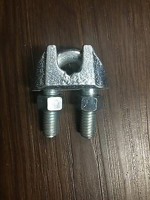 "7/16"" Malleable Wire Rope/Cable Clamp (40 Pack)"