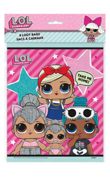 LOL Surprise Doll - 8 Pack Party Bags - Birthday Party Kids - Loot Bags