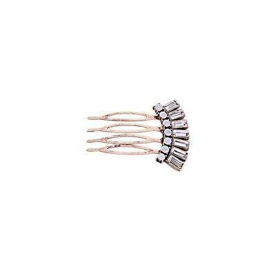 Vintage Inspired Art Deco Hair Slide Comb Bronze Silver Wedding Gift Quality UK