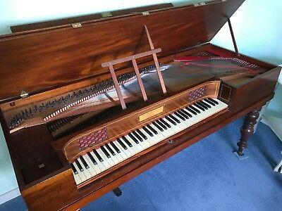 Early Square Piano made by John Broadwood & Sons