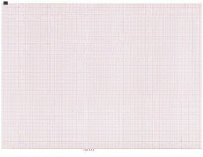 (3) - ECG Paper for Schiller AT2 - 210mm X 280mm X 215 Sheets (2157017 &