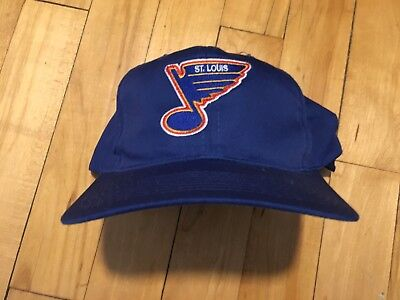 d4c93609a65 Vintage St Louis Blues Starter Snapback Hat The Right Hat 90s NHL Hockey