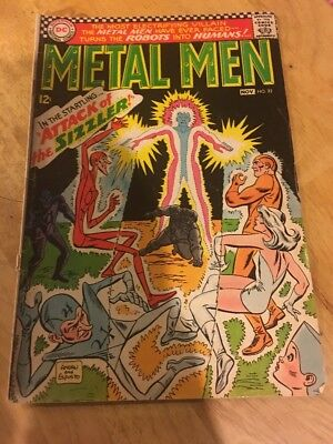 Metal Men #22, SA 1966, from DC Comics! 12 cent Cover! Save on Ship, See Inside!