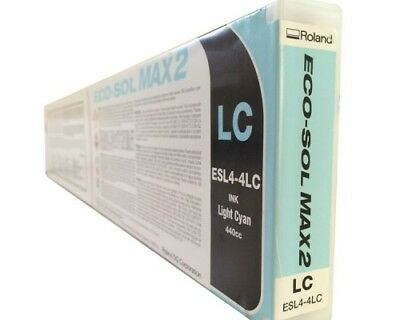 Roland Eco Sol Max2 ESL-4  New Sealed 440 Lite Cyan